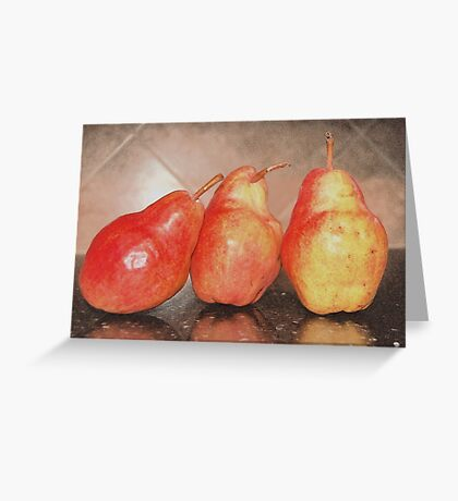LEAN ON ME PEARLIES Greeting Card