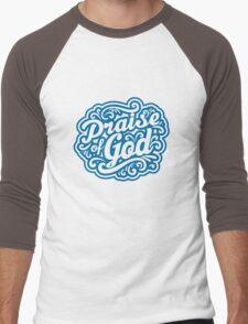 Praise God Men's Baseball ¾ T-Shirt