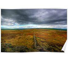 Open Moorland Poster