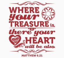 Where your treasure Baby Tee