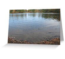Lake Massapoag Part 2 Greeting Card
