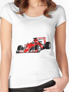 Formula One Racer Women's Fitted Scoop T-Shirt