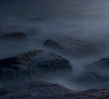 Misty waters by Andy Cork