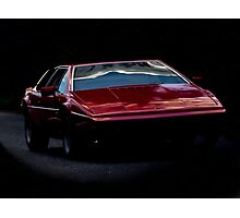 Lotus Esprit Photographic Print