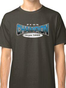 Pokemon Champion_Blue_DarkBG Classic T-Shirt