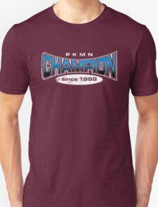 Pokemon Champion_Blue_DarkBG T-Shirt