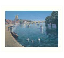 Henley on Thames Art Print