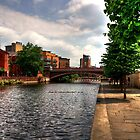 Canalside Walk by taffspoon