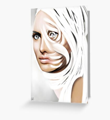 White sight Greeting Card