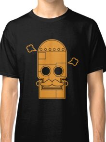 Mexican steampunk robot orange Classic T-Shirt