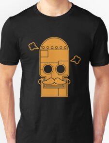 Mexican steampunk robot orange Unisex T-Shirt