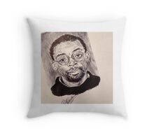 SPIKE LEE PORTRAIT Throw Pillow