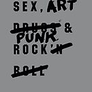 SEX, ART & PUNK ROCK by Steve Leadbeater