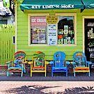 Key Lime Pie Store - Key West, Florida by Debbie Pinard