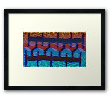 Abstract from the mundane! Framed Print