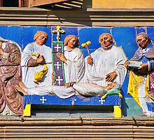 Ospedale del Ceppo, Pistoia by Nigel Fletcher-Jones