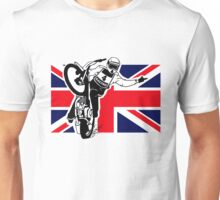 UK Speedway Motorcycle Racing Unisex T-Shirt