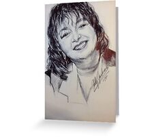 Roseanne Barr Official Portrait Greeting Card