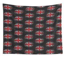United Kingdom Twirl Wall Tapestry