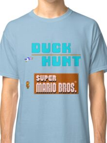 Duck Hunt & Super Mario Bros Classic T-Shirt