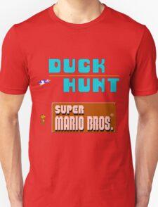 Duck Hunt & Super Mario Bros T-Shirt