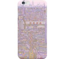 THE MEGATROPOLIS (warm hues) iPhone Case/Skin