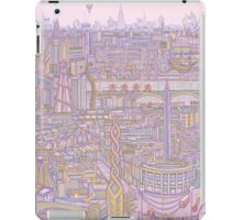 THE MEGATROPOLIS (warm hues) iPad Case/Skin