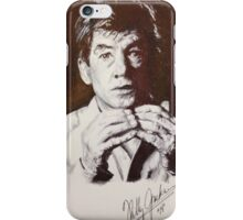 IAN MCKELLEN PORTRAIT iPhone Case/Skin
