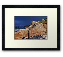 Back Light - Prieshach Cove Framed Print