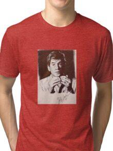 IAN MCKELLEN PORTRAIT Tri-blend T-Shirt