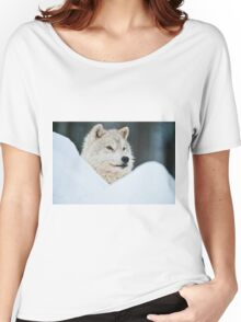 Arctic Wolf Women's Relaxed Fit T-Shirt