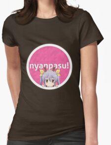 Non Non Biyori - Nyanpasu! (osu! Parody) Womens Fitted T-Shirt