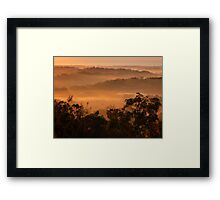 """Warming Light"" Framed Print"