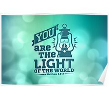 You are the light Poster