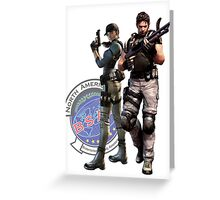 BSAA Agents Greeting Card