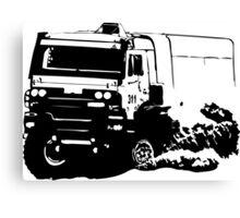 Truck Racing Canvas Print