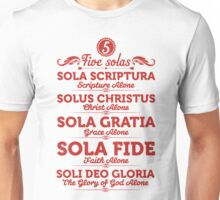 Sola scriptura Unisex T-Shirt