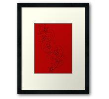 Ada Wong Butterflies Framed Print
