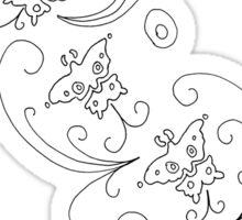 Ada Wong Butterflies Sticker