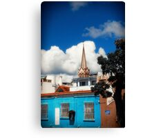 Church in Old City Canvas Print