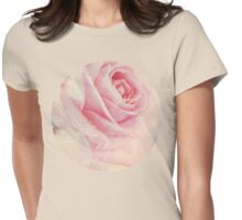 Antique Rose Womens Fitted T-Shirt