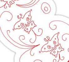 Ada's Dress Reverse Sticker
