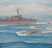 Flotilla 25, Royal Marines, Malaya 1945 by cgret82
