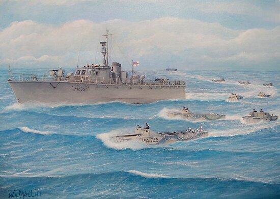 Flotilla 25, Royal Marines, Malaya 1945 by cgret82