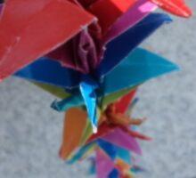 Peace Cranes Sticker
