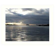 Galapagos View Art Print