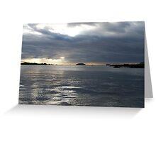 Galapagos View Greeting Card