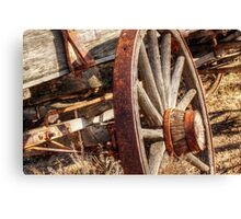rusty rim Canvas Print