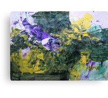 "Original Art Large Wall Art - ""Progress"" - Modern Abstract Expressionism Painting Canvas Print"