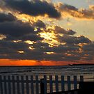 Sunset in Westbrook, CT by kailani carlson